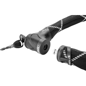 ABUS Steel-O-Flex Iven 8200/85 Cavo antifurto, nero
